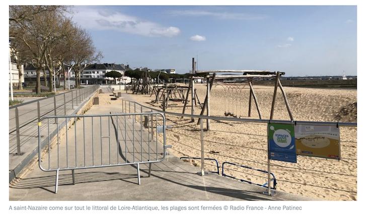 Les assassins-abrutis nous interdisent parcs et plages mais relâchent les migrants en centre de rétention !
