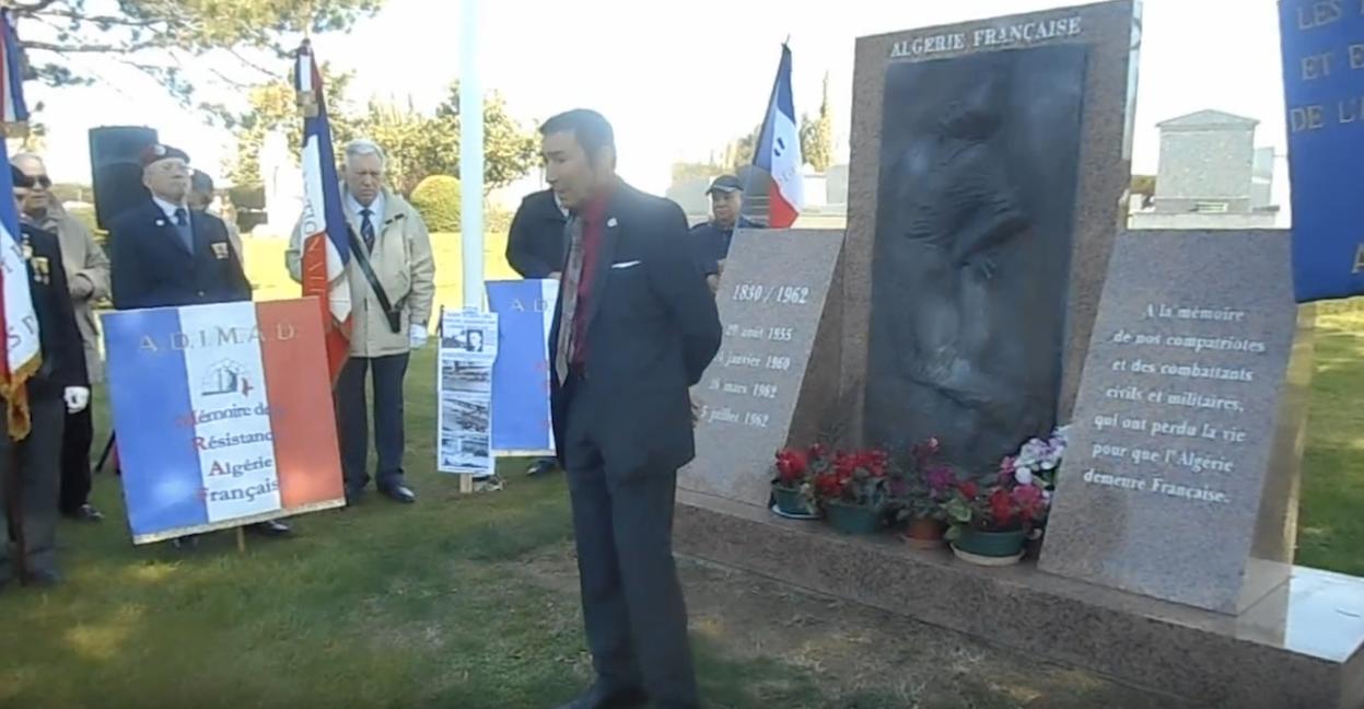 Hommage aux victimes du 26 mars 1962, massacrées à Alger par l'armée française tirant sur les siens