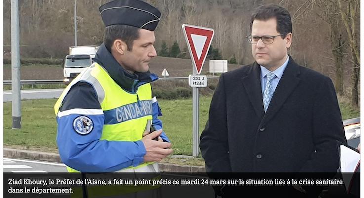 Le préfet de l'Aisne Ziad Khoury interdit toute vente d'alcool pendant le confinement !