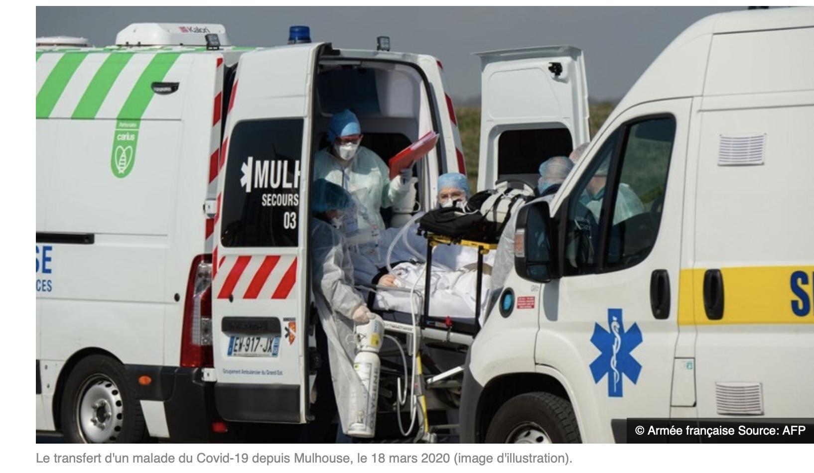 Nous, on peut pas faire 2 km et eux envoient des malades du corona partout en France…