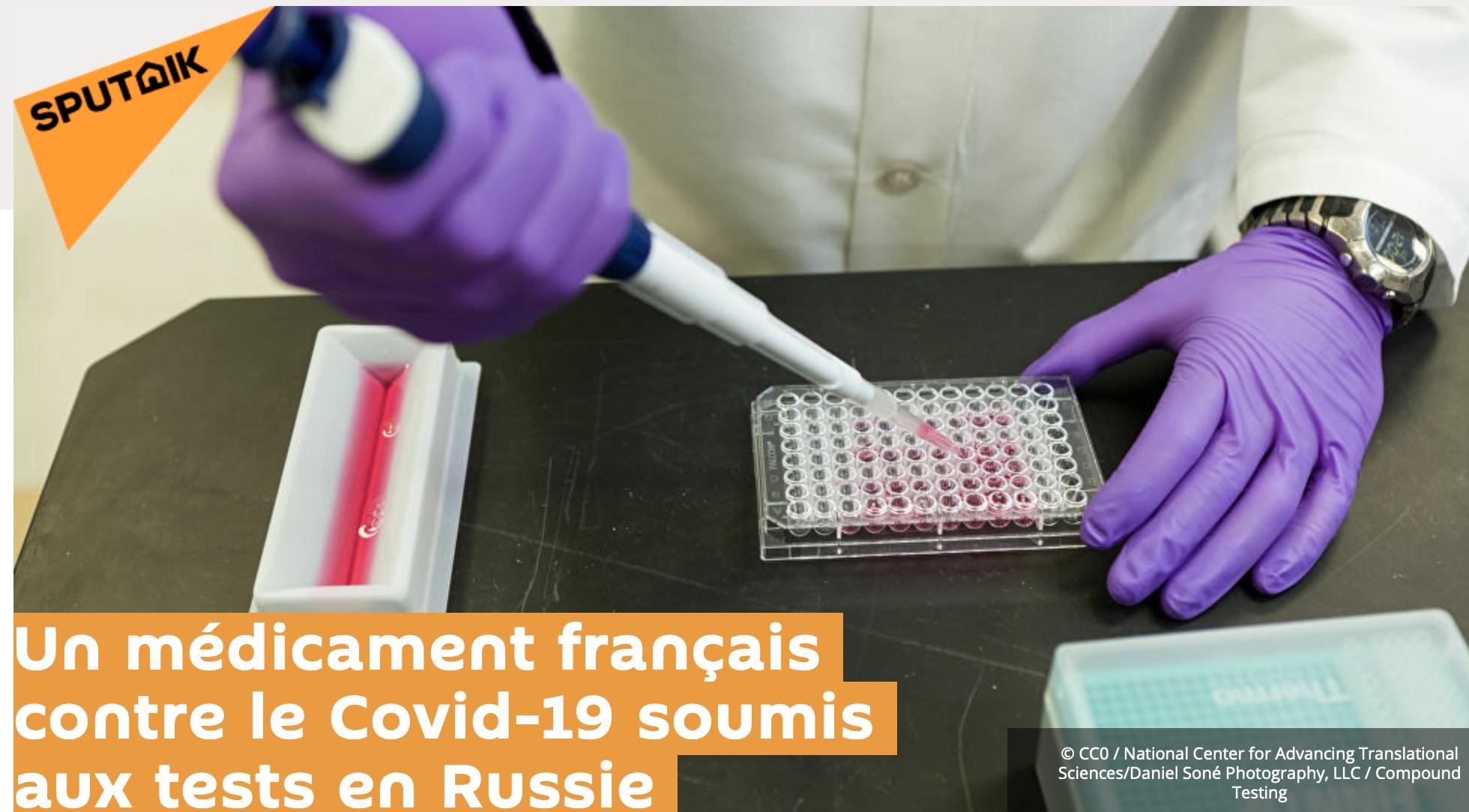 Tiens, tiens… Sanofi teste son nouveau médicament  contre le coronavirus, le «Kevzara»  !