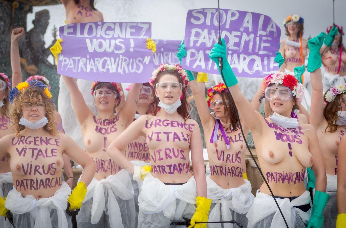 Pour les Femen, l'homme est un virus à éradiquer