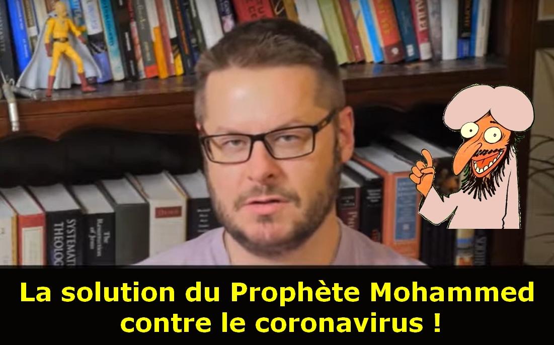 David Wood : la solution de Mahomet contre le coronavirus, tous les contaminés à Médine !