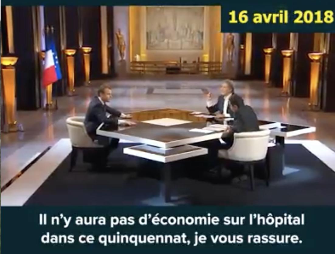 Les mensonges de Macron-Buzyn sur l'hôpital depuis 3 ans…