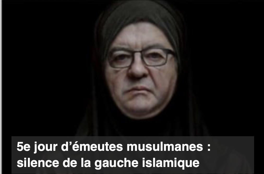 Pierre Cassen : émeutes musulmanes, silence de la gauche islamique (video)