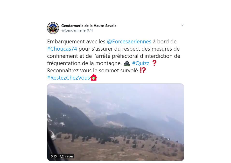 Surveillance du confinement par hélicoptère : la Gendarmerie en fait-elle trop ?