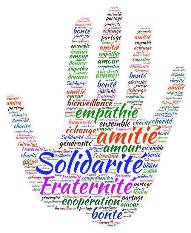 La solidarité ?  Je veux bien, mais avec les miens, ceux avec qui j'ai des intérêts communs !