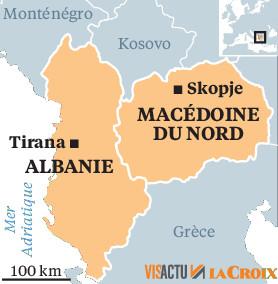 Macron continue à trahir : porte ouverte à la Macédoine et à l'Albanie dans l'UE malgré ses promesses !