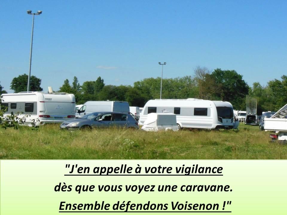 Coup de chapeau au maire de Voisenon (77) : non à l'installation de gens du voyage !