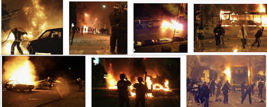 Les émeutes de 2005, c'était à cause d'une grenade lacrymo jetée par des policiers dans une mosquée
