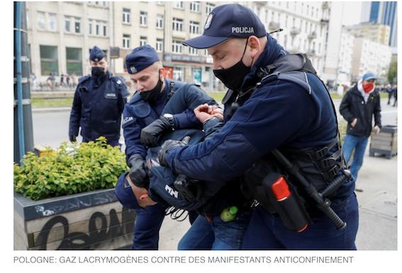 Pologne : des manifs anti-confinement qui dégénèrent… feront-elles sauter le gouvernement ?