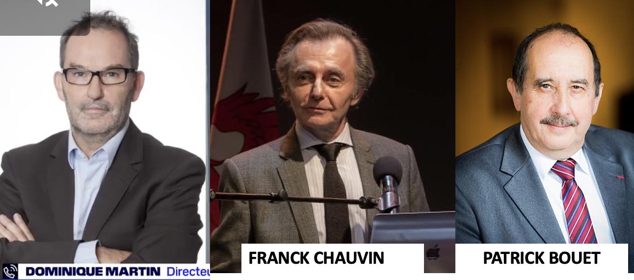 Révolté, Raoult dénonce trois des coupables : Martin, Chauvin et Bouet