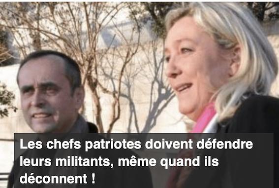 Pierre Cassen : les chefs patriotes doivent défendre leurs militants, même quand ils déconnent !