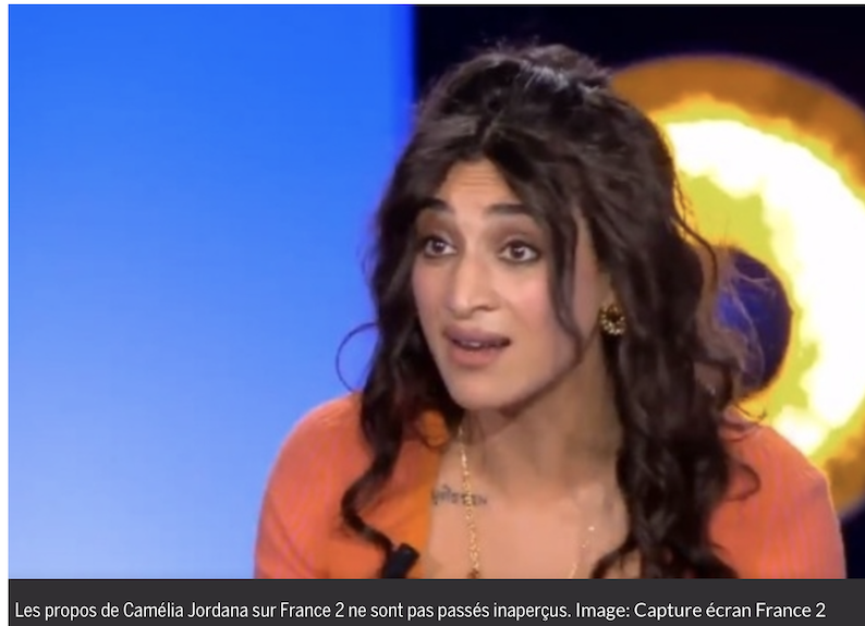 Les twitteurs règlent son compte à la radasse Camelia Jordana : #JeNeSuisPasCameliaJordana
