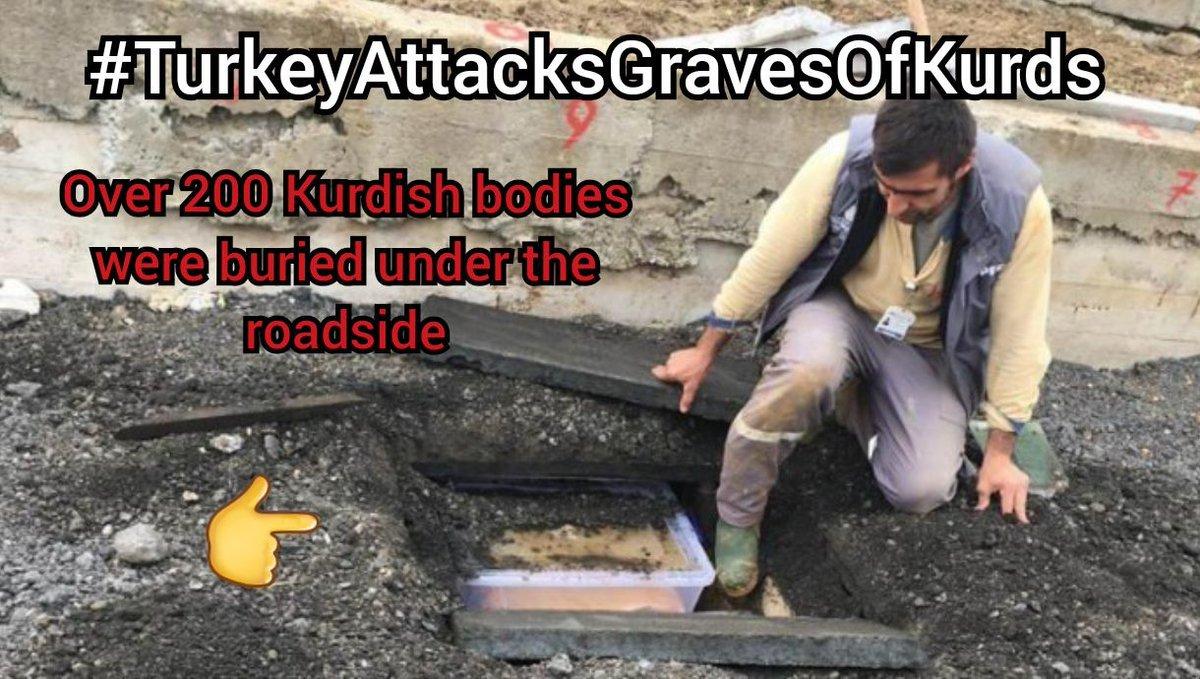 Turquie : 267 corps de combattants kurdes enfouis sous un trottoir d'Istanbul !