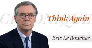 Covid 19 : le journaleux  Eric Le Boucher trouve que l'on en fait trop pour de «vieux Blancs malades» …