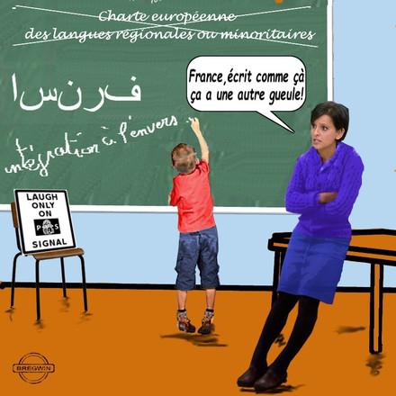 C'est une bombe ! Macron vient de signer le décret : les enfants apprendront l'arabe dès le CE1 !