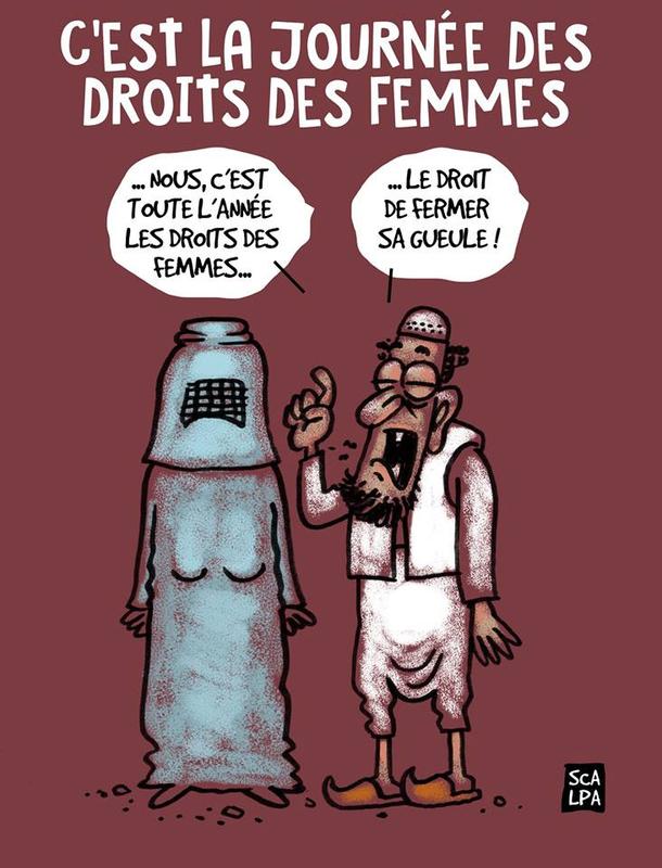 Que dire de ces musulmanes en mini-jupe qui se font tatouer «Mahomet» sur le décolleté ?