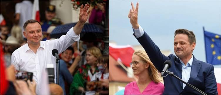 Présidentielles polonaises du 28 juin 2020 : 2% pour les socialauds, pas de Verts… Pour le reste, ça promet !