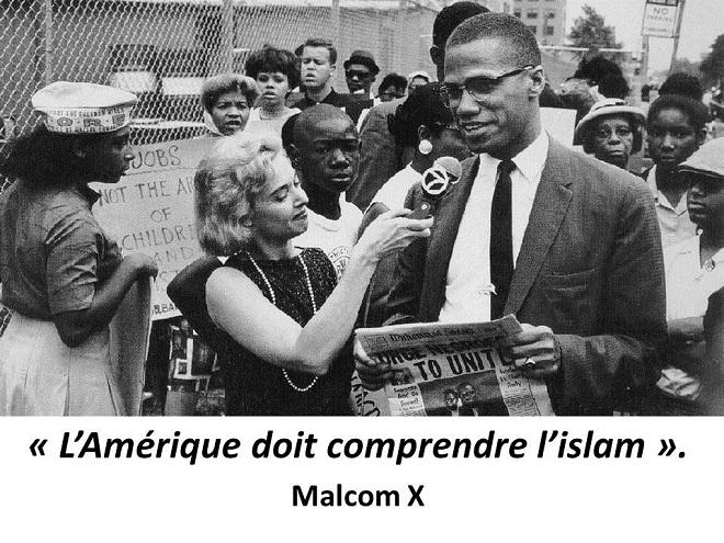 Derrière la «guerre raciale» aux USA : l'islam qui veut détruire l'Amérique, héritage direct de Malcom X