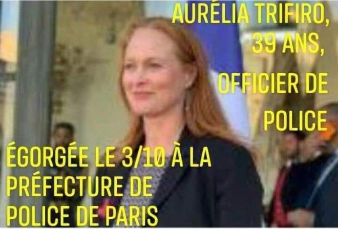 Aurélia, saignée au couteau, au nom de l'islam: sa plaque commémorative ne mentionne même pas l'attentat