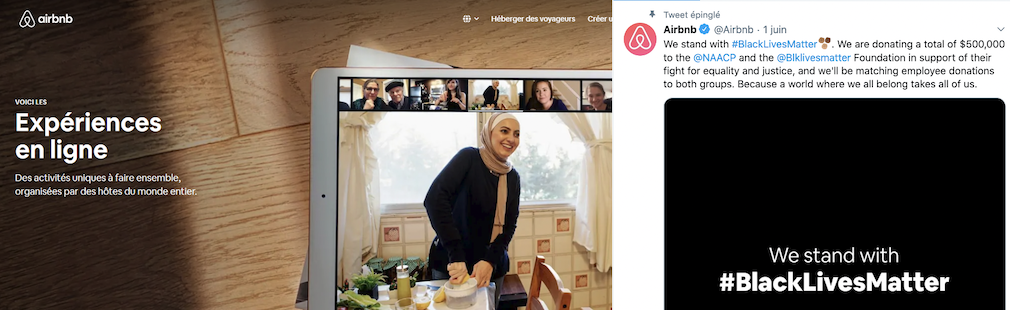 Airbnb  soutient  le mouvement «Black live matters» et fait de la pub avec une voilée : plus jamais de location avec eux !
