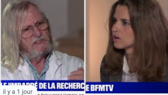 Pourquoi BFM a-t-elle chargé la nullissime et ignorante Margaux de Frouville  d'interviewer Raoult ?