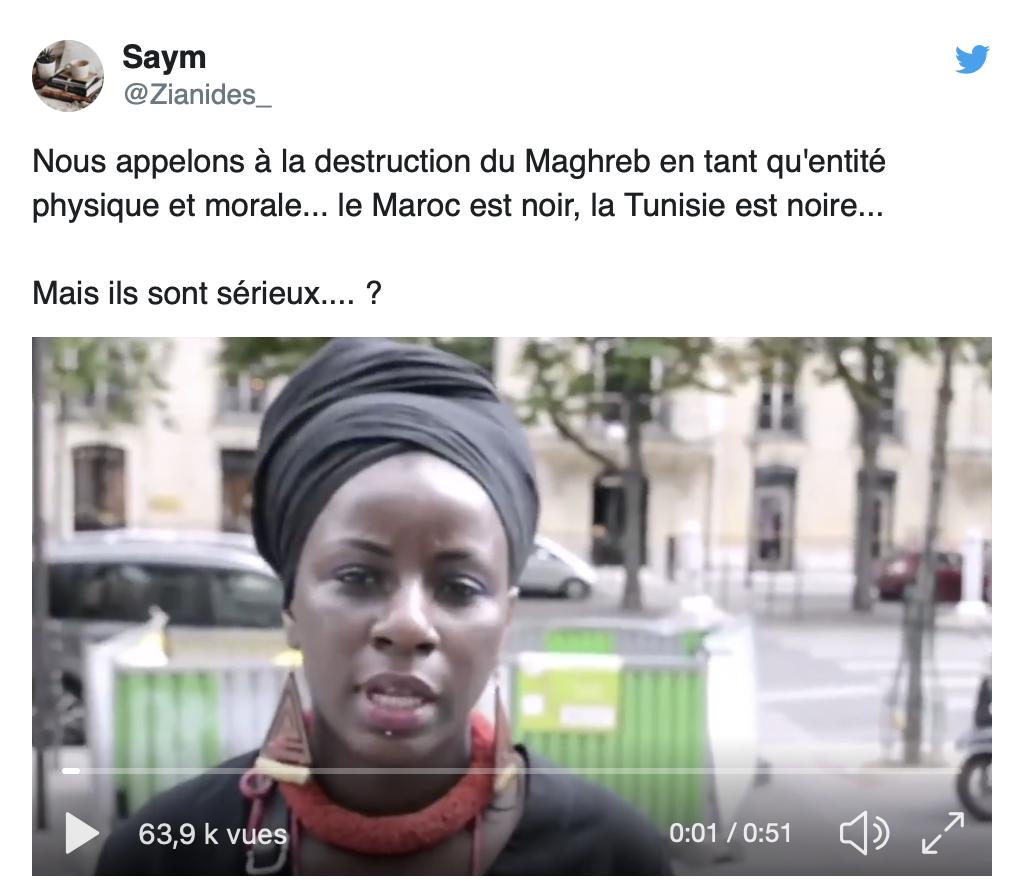 Le FLN a chassé les Français d'Algérie, à présent des Noirs veulent chasser les Maghrébins d'Afrique du Nord