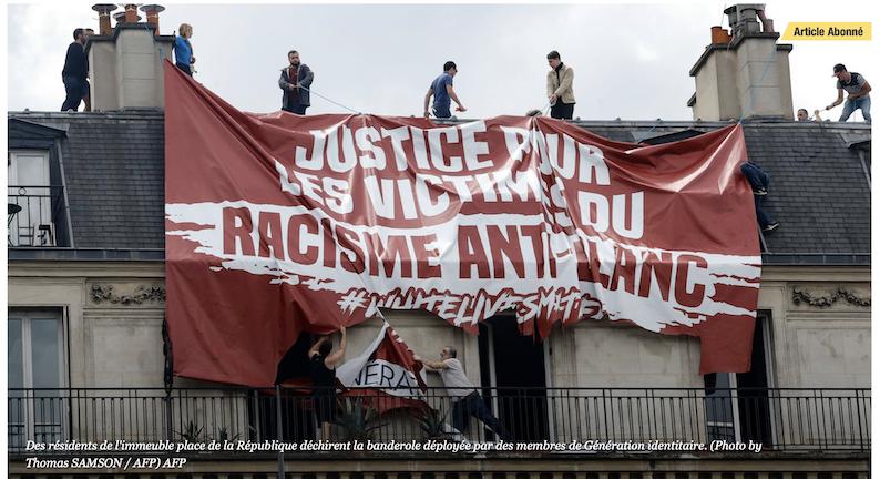 Pierre Cassen : la banderole de Génération Identitaire a sauvé l'honneur de la France (video)