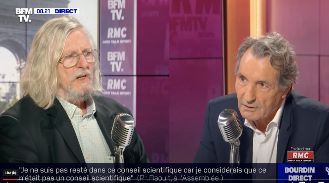 Pierre Cassen : Jean-Jacques Bourdin voulait se farcir le Pr Raoult, raté ! (video)