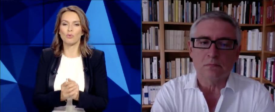 Michel Onfray :  «On est dans une situation, effectivement, de guerre civile»