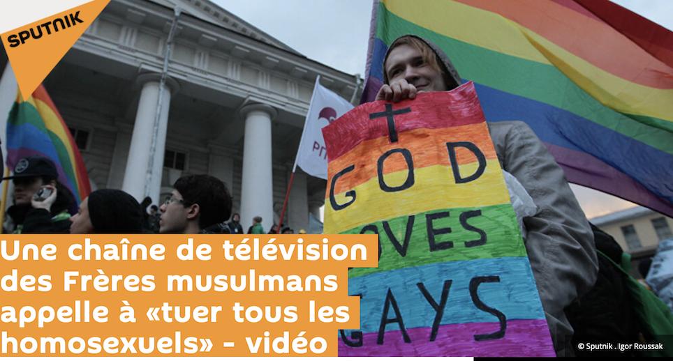 Egypte : les Frères musulmans chers à Macron appellent publiquement à tuer les homos