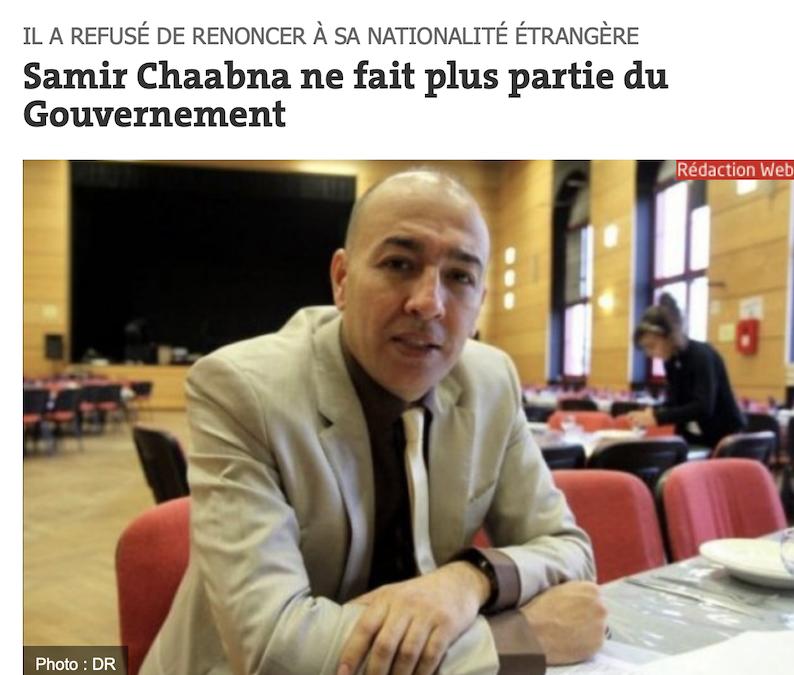 Pas de Ministres avec la double nationalité en Algérie ! Macron, prends-en de la graine !