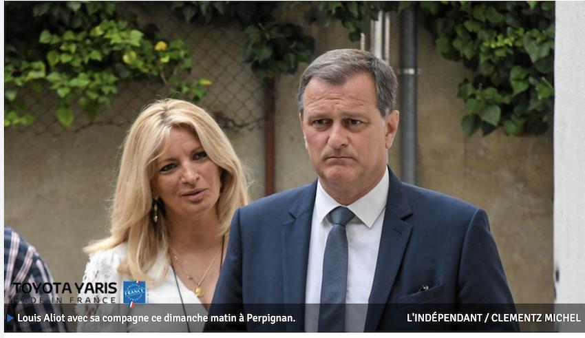 Champagne ! Louis Aliot élu Maire de Perpignan avec environ 53% des voix !