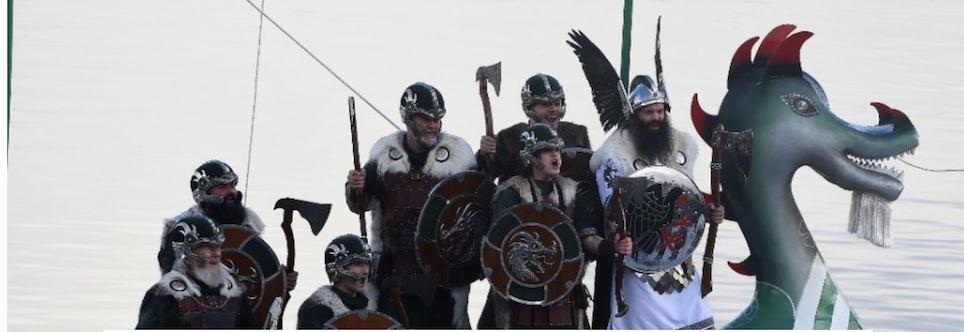 Les Vikings nous ont envahis et colonisés au IXe siècle ! Nous exigeons donc que le Danemark, la Norvège, la Suède et l'Islande se repentent