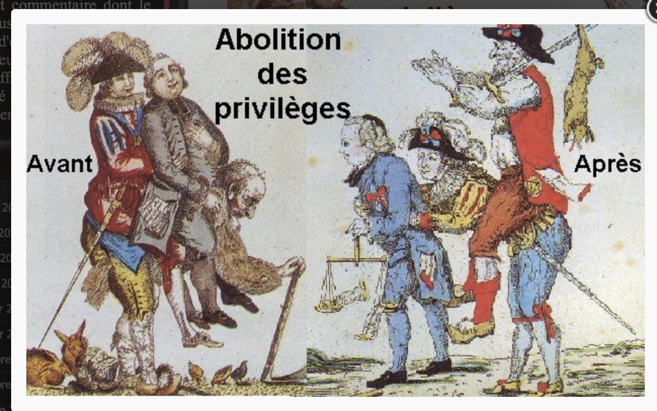Bonne nouvelle : je viens de découvrir que je suis un privilégié parce que Blanc…