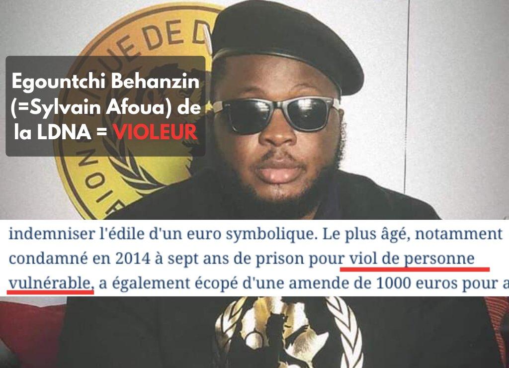 Tiens, Sylvain Afoua, prends ça dans ta gueule ! Le leader de la LDNA ridiculisé !