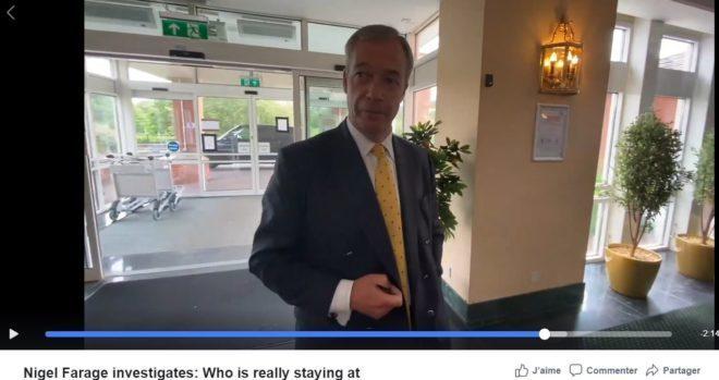 Nigel Farage : des dizaines de milliers de clandestins vivent dans des hôtels 4 étoiles – ça coûte des milliards