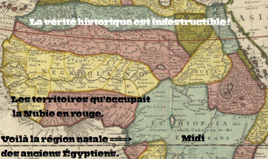 Les anciens Egyptiens venaient du Gabon, les Noirs ont construit Rome, le monothéisme juif venait d'Afrique…