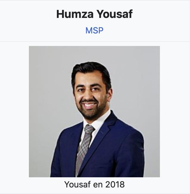 Ecosse : devenu ministre de la justice, le musulman fils d'immigrés Humza Yousaf s'attaque aux Blancs…