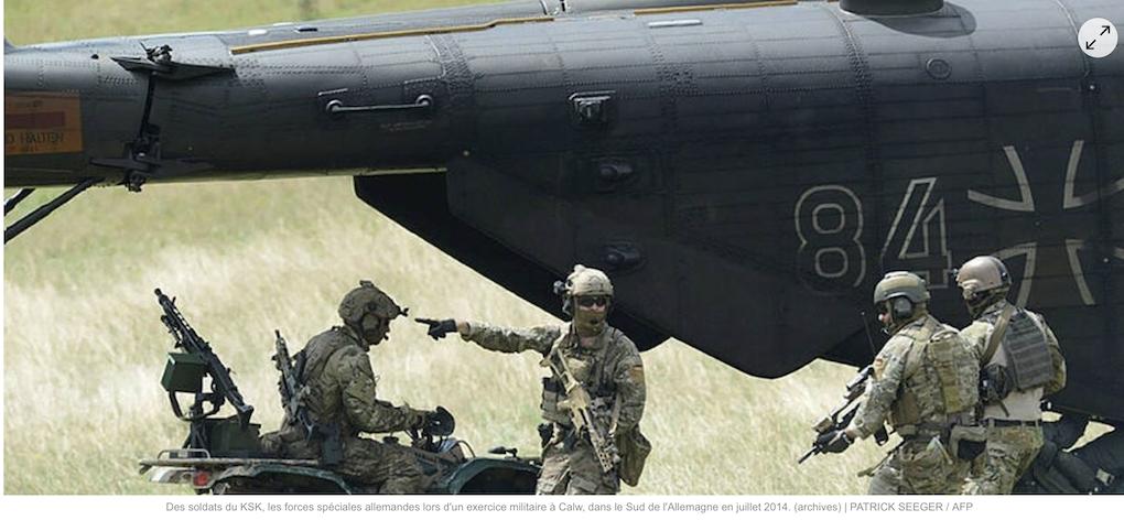 Merkel dissout l'élite des forces spéciales pour livrer, pieds et poings liés, les Allemands à l'islam