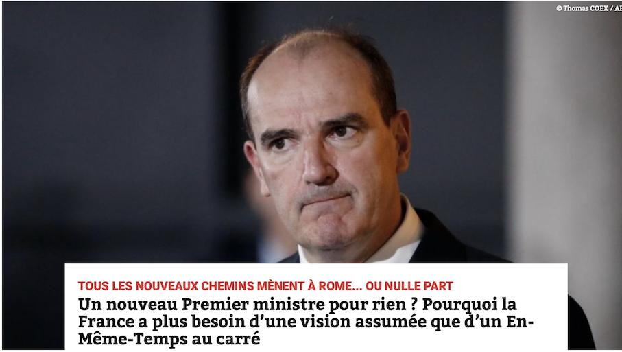 Un nouveau Premier ministre pour rien ? La réélection de Macron vaut bien un Jean Castex !
