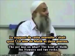 Nos églises portent le nom de saints, leurs mosquées  le nom de tueurs  cannibales !