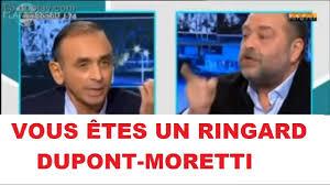 La traitement que Dupond-Moretti a infligé à Zemmour est celui qui attend tous les amoureux de la France …