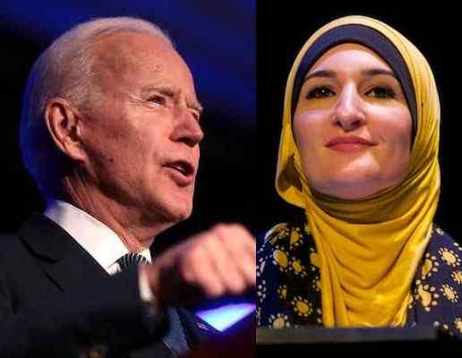 Biden : aux côtés d'une antisioniste, il se soumet aux musulmans et jure d'éradiquer la «phobie de l'islam»!