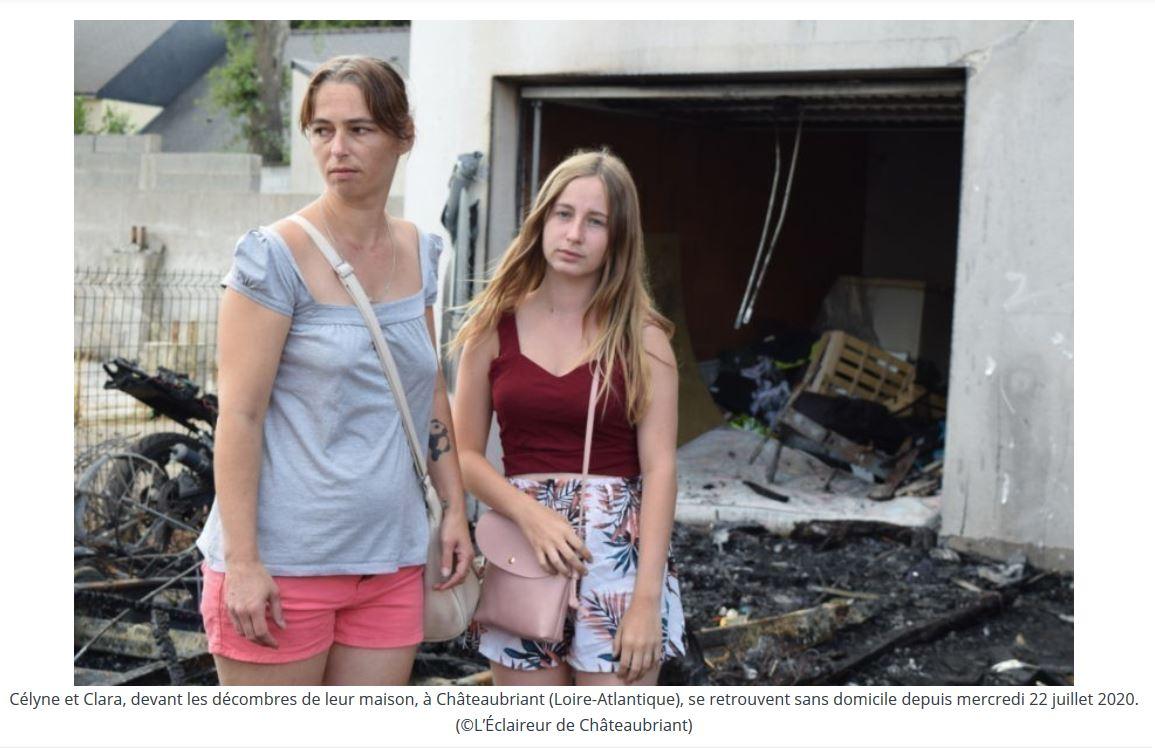 Une famille française à la rue, leur maison incendiée : ils voulaient savoir qui avait volé leurs vélos