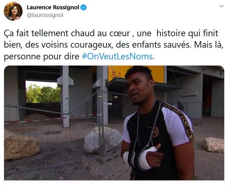 Sans un mot pour Axelle, la gauche dénonce le hashtag «On veut les noms»