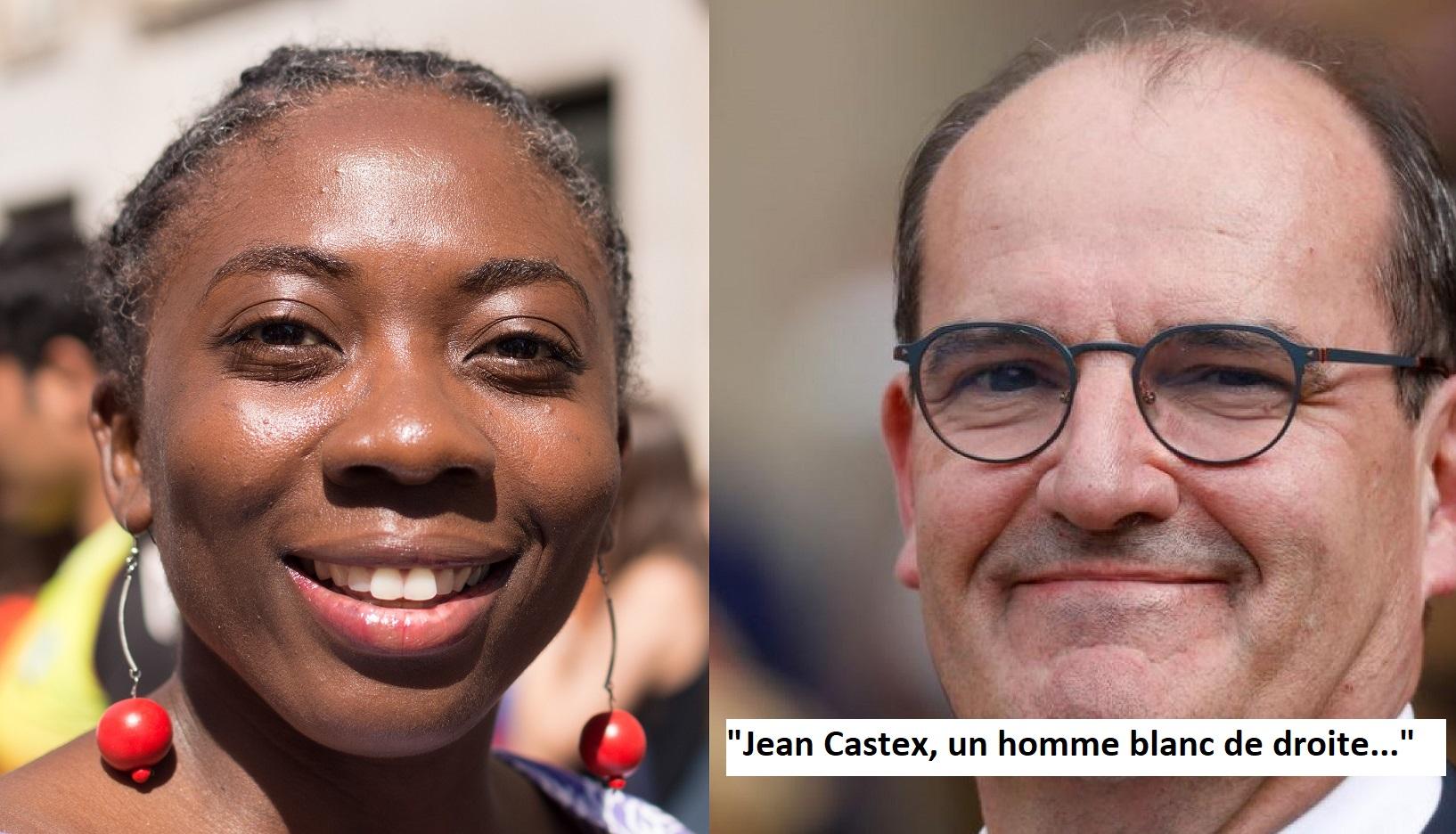 Danièle Obono trouve Jean Castex trop… blanc