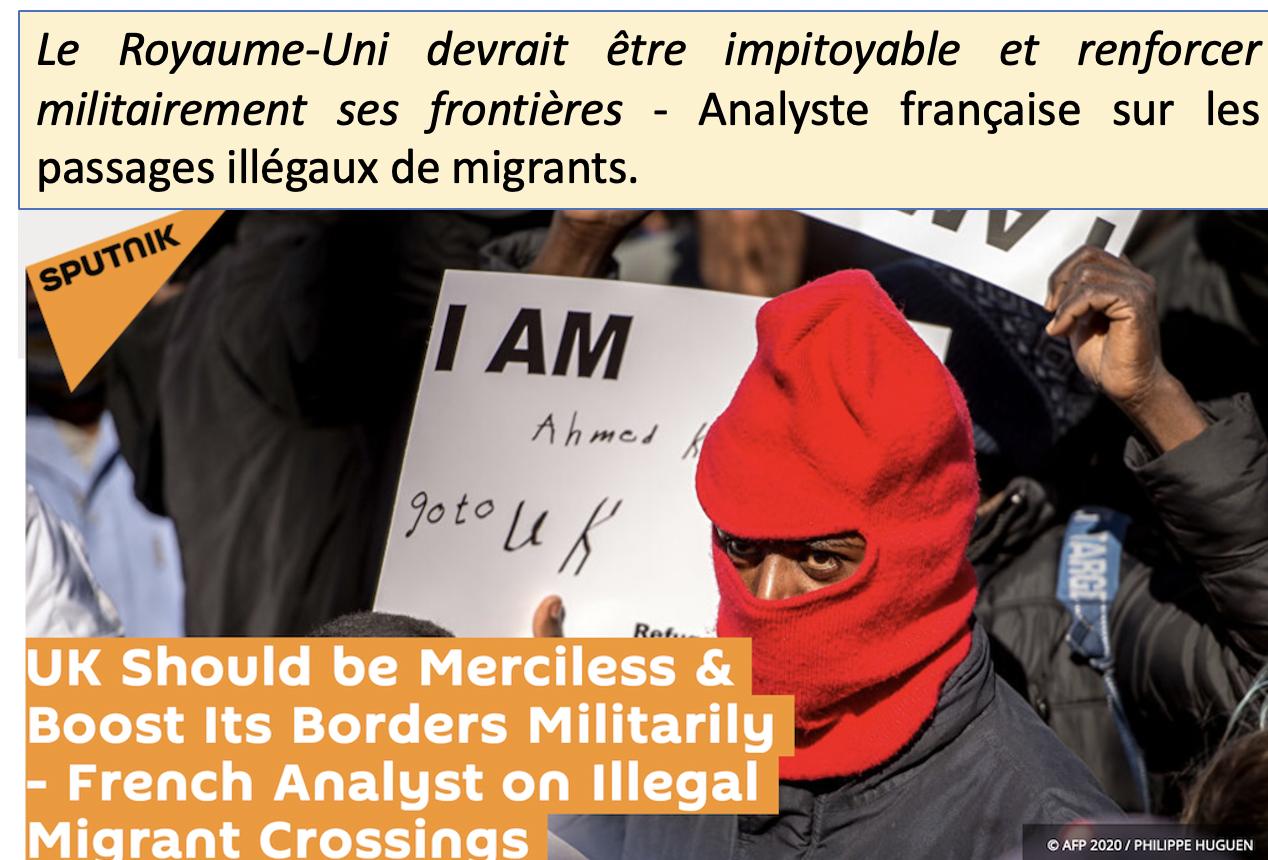 Sputnik : comment empêcher les migrants de passer de France en Angleterre ?