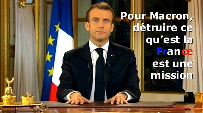 Couvre-feu du dictateur Macron : enfermement, fin des libertés, de l'amitié… de la France !
